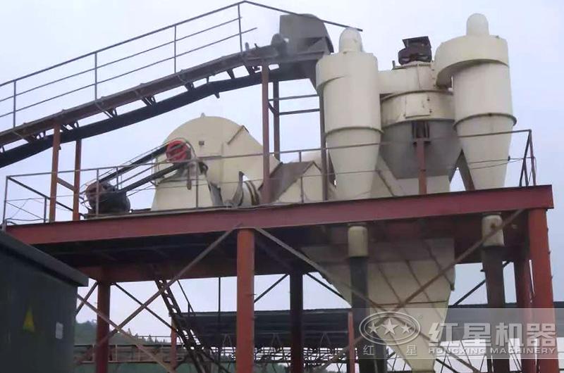 雷蒙磨粉机现场使用的鼓风机
